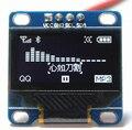 0.96 polegada Cor Branca de Comunicação IIC I2C 128*64 Display OLED LCD Módulo De Tela de 12864