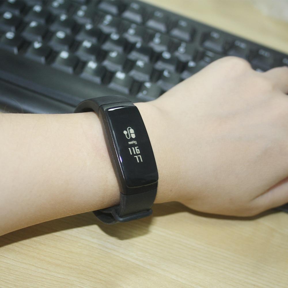 60a82d1320b Original Relógio De Pulso Inteligente V07 Smartband Pressão Arterial ...