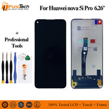 Original LCD For Huawei Nova 5i pro Lcd Display Touch Screen Digitizer Assembly New 6.26'' For HUAWEI Nova 5i pro  Lcd Screen new original lcd screen nl8060bc31 27