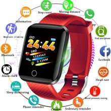 цена LIGE New Smart Bracelet Women sport Wristband LED Touch Screen Blood Pressure Heart Rate Monitor Fitness Tracker Men Smart Watch