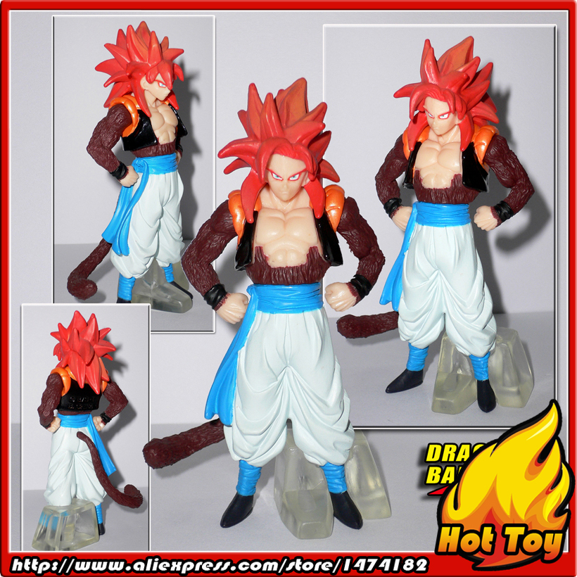 100% Original BANDAI Gashapon PVC Toy Figure HG GT 2 - Gogeta Super Saiyan 4 from Japan Anime Dragon Ball GT (9cm tall) sailor moon capsule communication instrument machine accessory gashapon figure anime toy full set 100