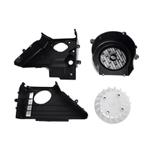 Complete Air Shroud Assembly w fan for GY6 150cc ATV Go Kart Buggy s Scooter