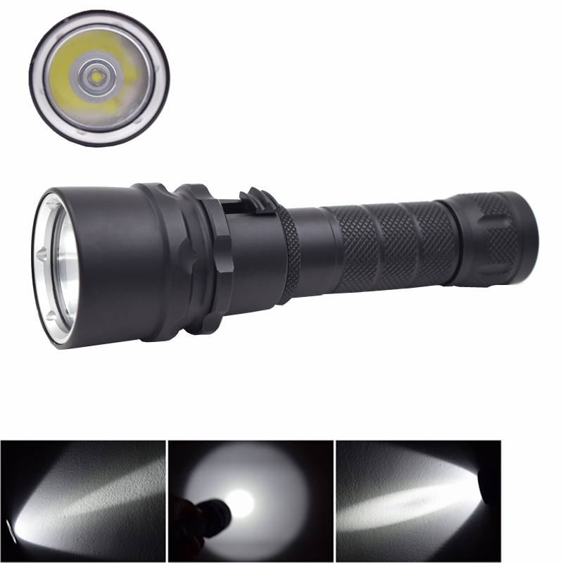 Waterproof led Diving Flashlight XML L2 LED Diving Torch 80m Underwater Light 18650 Scuba Lanterna lampe Torche