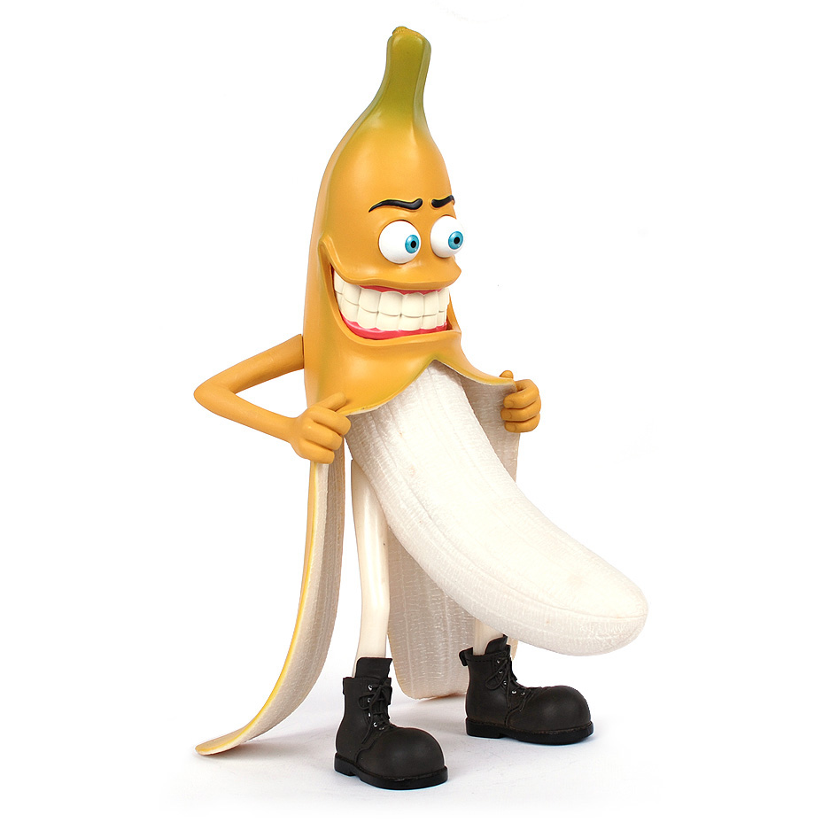 Evil bad banana person furnishing articles interesting for Articles decoration