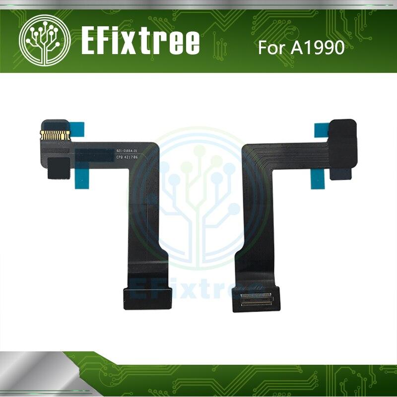 5PCS 821-01664-01 821-01664  A1990 Keyboard Flex Cable For Macbook Pro 15'' A1990 EMC 3215  Mid 2018 2019 821-01664-A