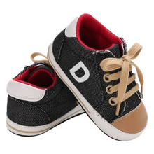 2018 Newborn Baby Boys Autumn Shoes Fashion Toddler Infants Shoe Baby