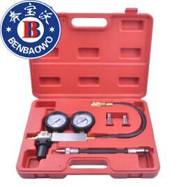 Cilindro Leak - para baixo vazamento testador Detector de vazamento de compressão do motor Gauges w caso
