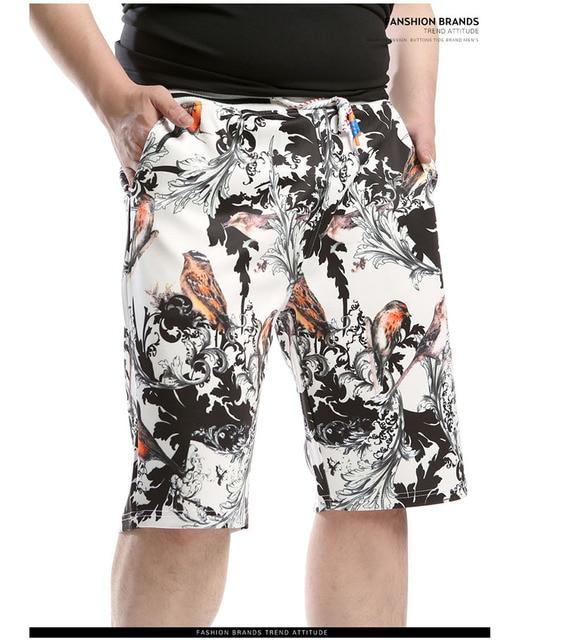 Big Yards Summer Men's Cotton Beach Shorts. Enlarged XL-6XL Casual Man's Big Size Fifth Pants.