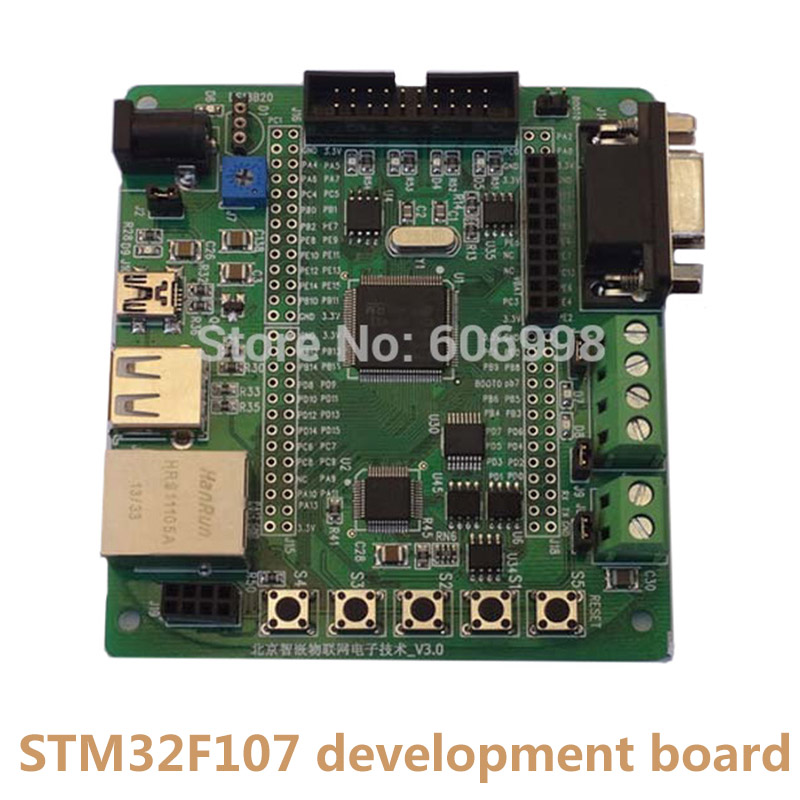 STM32F107 Development Board STM32F107VCT6 Ethernet RC522 IOT Multiple Interfaces Support Radio Frequency ModuleSTM32F107 Development Board STM32F107VCT6 Ethernet RC522 IOT Multiple Interfaces Support Radio Frequency Module