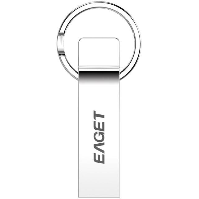 EAGET U90 USB 3.0 100% 32GB usb flash drives pen drive Fashion MINI metal waterproof Gift USB3.0 Free shipping