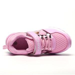 Image 4 - の子供の靴春女の子スニーカー幼児プリンセサソフィアスポーツ sapatos crianca buty sportowe dla dzieci 子 fille