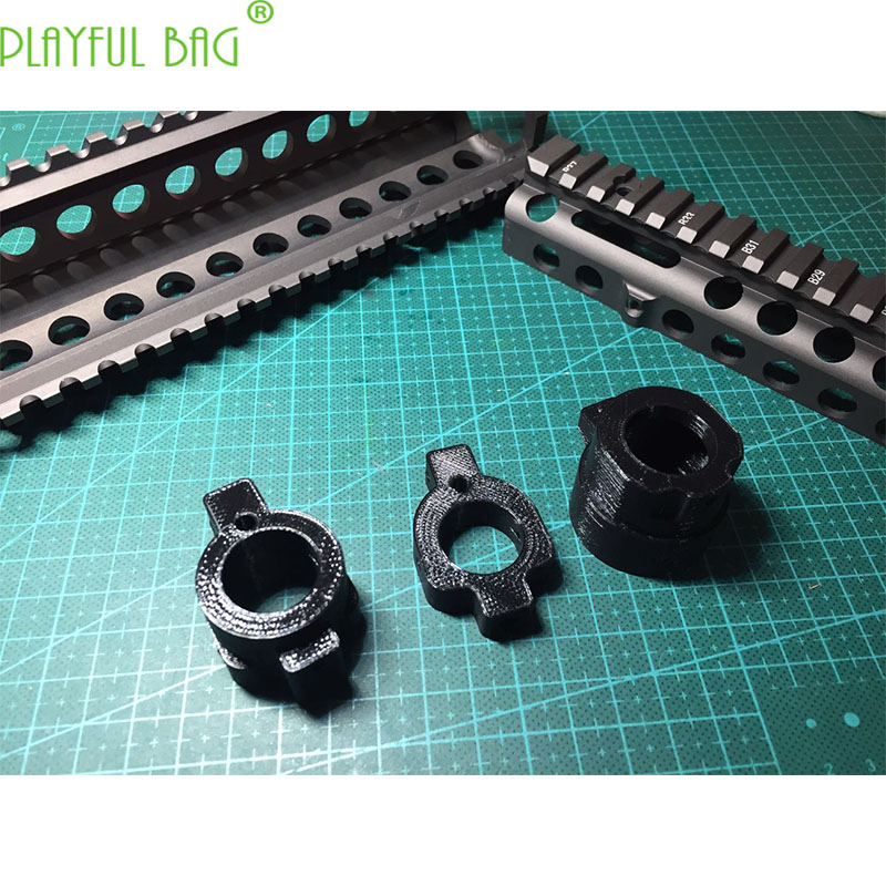Outdoor Activity CS MK18 Wolf Brown Fish Bone Toy Water Bullet Gun Jinming 8 Adapter Ring Pre Stabilization Middle Stable QJ68