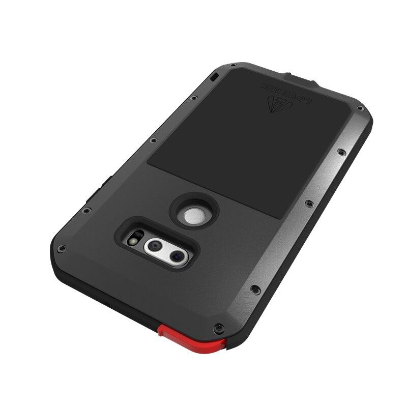Étui de protection hybride blindé étui étanche Fundas boîtier étanche à l'eau/saleté/choc/pluie pour LG V30 Plus V35 ThinQ - 2