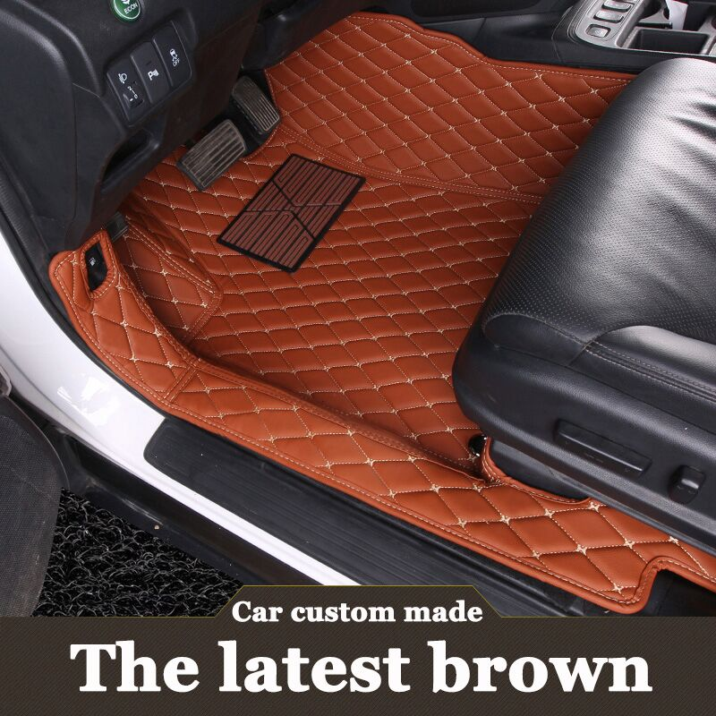 Special customizd car floor mats for Land Rover Range Rover heavy duty  rugs liners L320 (2005-2013) L494 (2014-) Mercedes-Benz CLA-класс