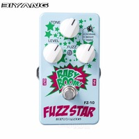 Biyang Fuzz Star Guitar Effect Pedal Smooth Sounding Fuzz Distortion Effects Stompbox For Electric Guitar Baby
