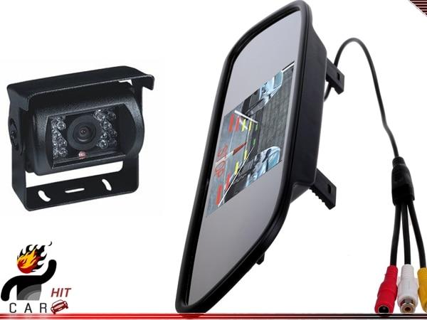 5 Inch Rearview Anti-Glare Mirror Monitor Car Caravan Truck Bus Reverse Camera glare 30