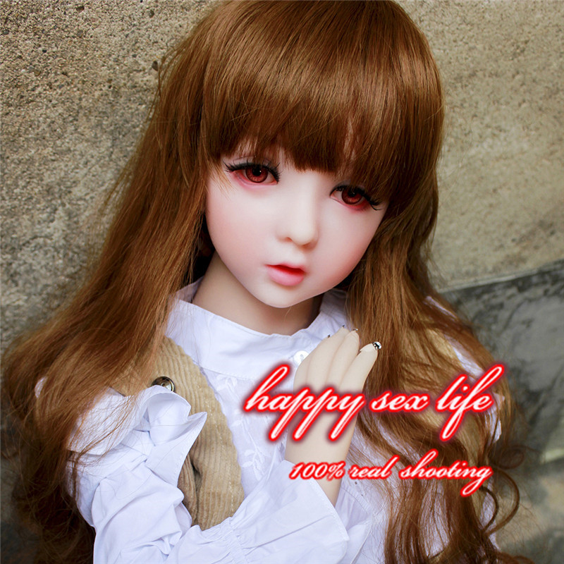 Intelligent silicone sex doll,111cm Top quality real silicone sex dolls,lifelike love doll, close eyes oral japanese real doll