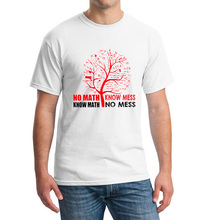 Fantastic NO MATH KNOW MESS men t-shirt