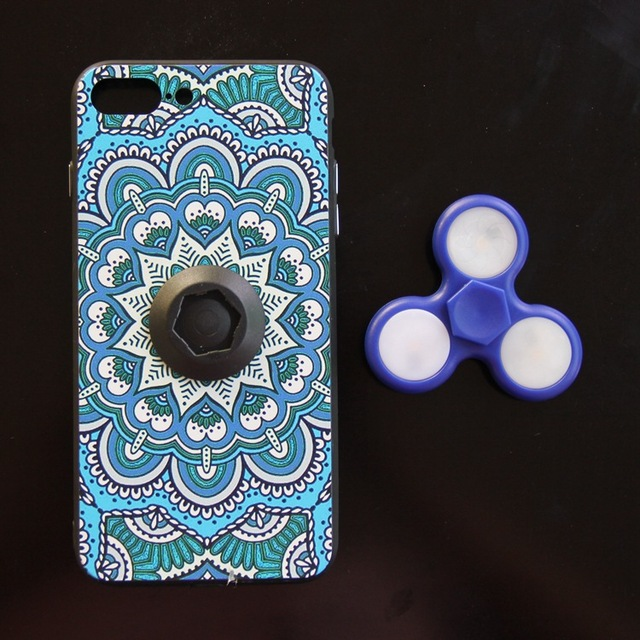 Case with Fidget Spinner for iPhone