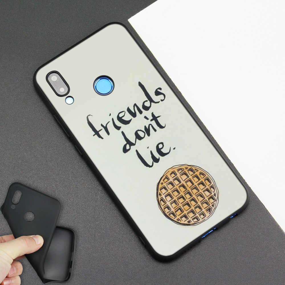 シリコンケース Huawei 社 P20 P10 P9 P8 Lite プロ 2017 p スマート + 2019 ノヴァ 3i 3E 電話ケースストレンジャーものポスター