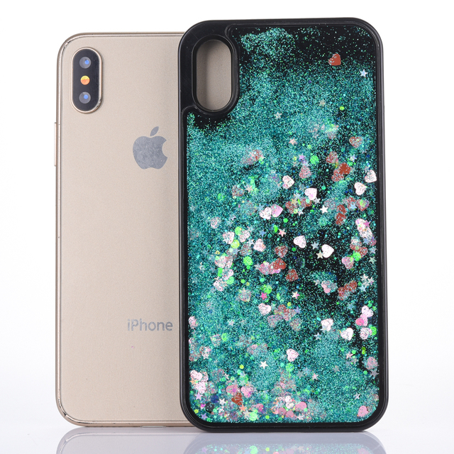 new concept e2015 8660d US $2.6 10% OFF|For Iphone X Case Dynamic Liquid Moving Mini Heart Bling  Glitter Quicksand Cover for Iphone 6 6s 7 7Plus 8 8Plus Black Case-in  Fitted ...