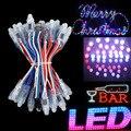 Luces de navidad WS2811 RGB LED corda luzes de natal LED Pixel módulo 5 V Halloween / festa / decoração 500 pçs/lote