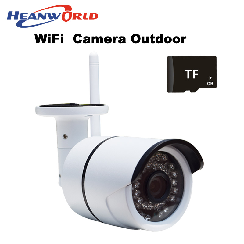 ФОТО Outdoor Wifi IP camera wireless surveillance IP cam with micro SD slot CCTV Webcam Network Security Camera support mobile phone