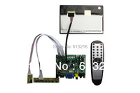 HDMI VGA AV Audio TFT LCD Controller Board 7inch LCD Panel 1280 800 LVDS Cable Remote
