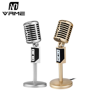 Vrme Condenser Microphone Professional Microphone For Video Recording Karaoke Radio Studio Microphone For Computer PC Cell