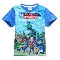 2017 New Boys T Shirt Cotton Short-sleeved T-shirts For Kids Girls Shirt Printing Children Cartoon Kids Boys Child's Clothes