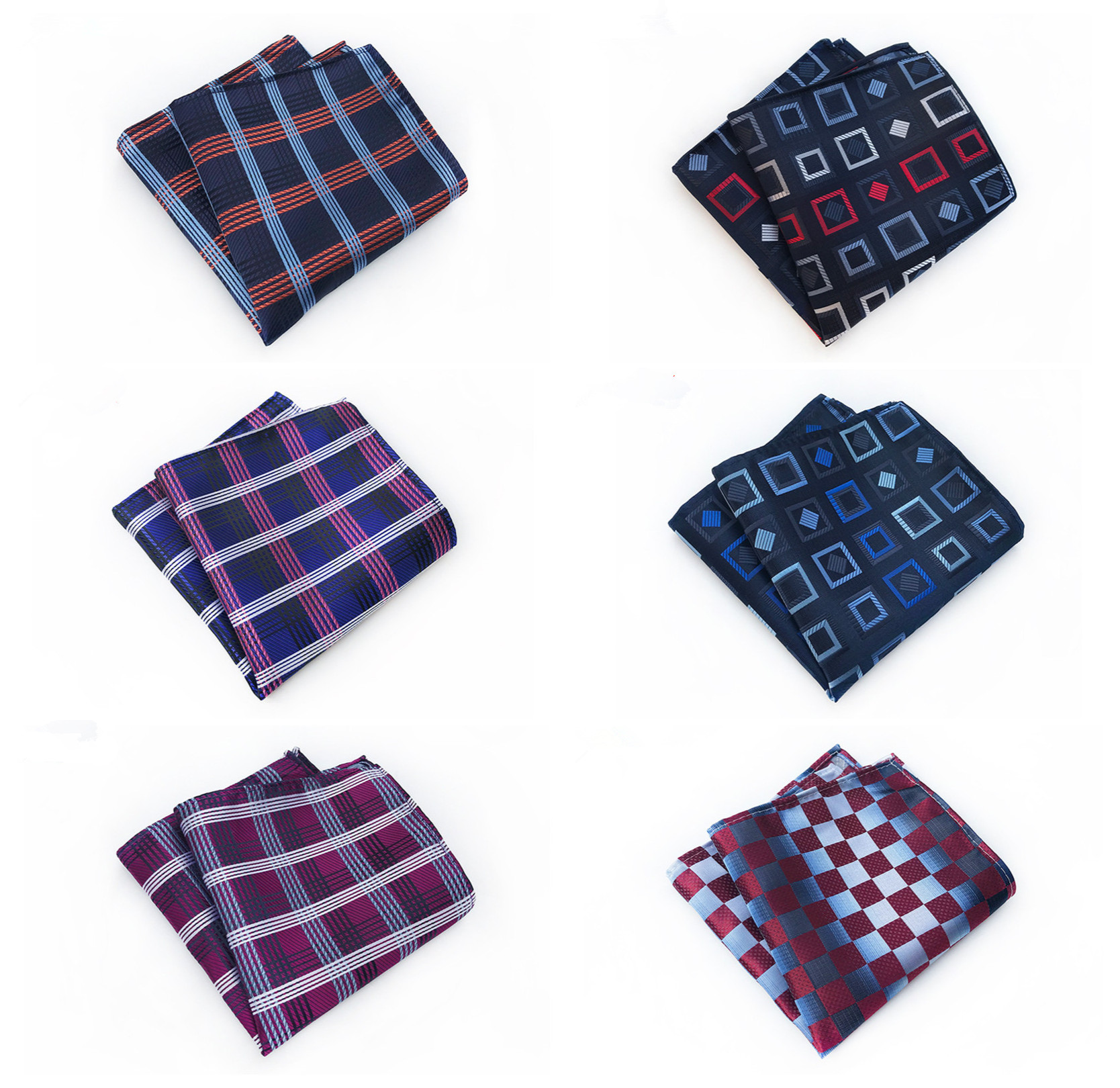 Fashion Business Quality Clothing Accessories Handkerchief Boutique Recommended Fashion Explosions Floral Men's Pocket Towel