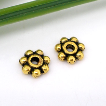 US $2.55 19% OFF|Doreen Box hot   400 PCs gold color Tone Tiny Daisy Spacers Beads 5MM Findings (B05148)-in Beads from Jewelry & Accessories on Aliexpress.com | Alibaba Group