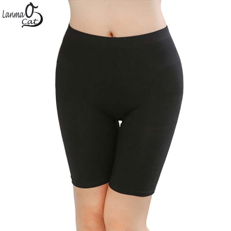 Lanmaocat Hot Sale Women Leggings Knee-length For Fummer Under Skirts Made Of Comfortable Lightweight Bamboo Fiber Free Shipping