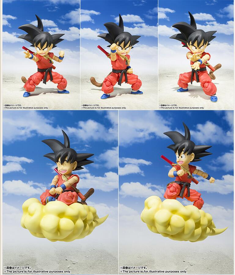 Dragon Ball Young Son Goku on Flying Nimbus Action Figure 6