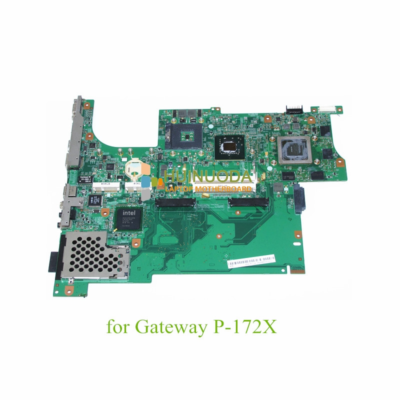 MB 07201-3 48.4V601.031 laptop motherboard For gateway P-6822 P-172X 965PM DDR2 Nvidia G92-700-A2 Main board