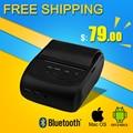 portable bluetooth thermal printer  mini 58mm usb receipt printer bluetooth android&ios pos printer mobile printer