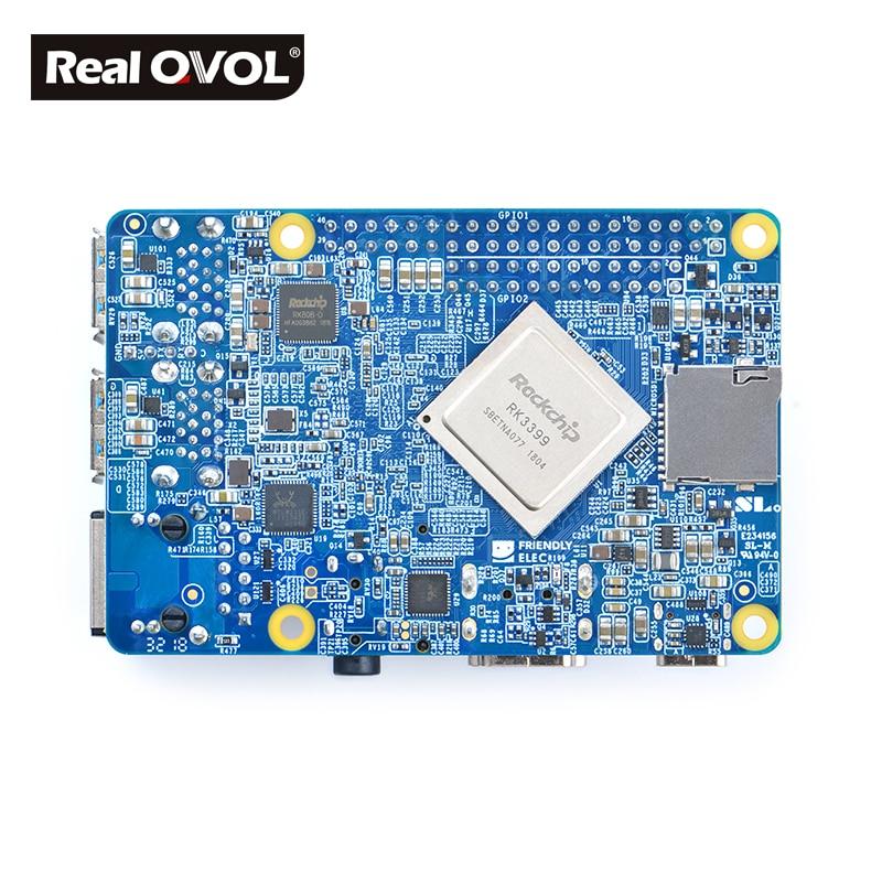 Image 5 - RealQvol FriendlyARM NanoPi M4 2GB/4GB DDR3 Rockchip RK3399 SoC 2.4G & 5G dual band WiFi+Bluetooth 4.1 supports Ubuntu Android-in Demo Board from Computer & Office