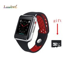 IWO Sport Android Smart Watch For Iphone Samsung Smartwatch with 2G network Call music Camera Facebook Whatsapp Twitter Sync SMS(China)