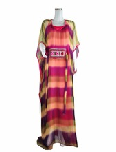 African dress for women kaftan caftan plus size long Embroidery chiffon dress gown african fashion turkish arabic dress LF-18