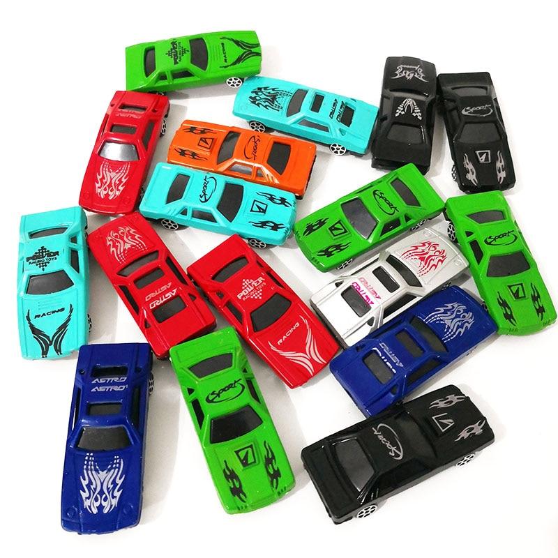 DIY City Parking 10pcs Alloy Plastic Toy Model Boy Toys Car Model Children's Day Xmas Gifts Random Colour
