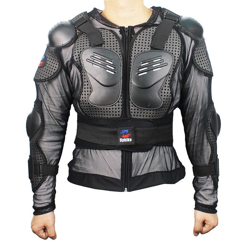 2017 мотоциклетные Панцири куртка мотокросс Полный Средства ухода за кожей защитный Куртки, грудь локоть Назад Плечо протектор защиты ткань