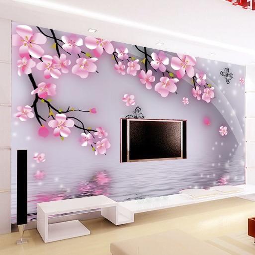 Aliexpress.com : Buy Large Mural Wallpaper The Romantic