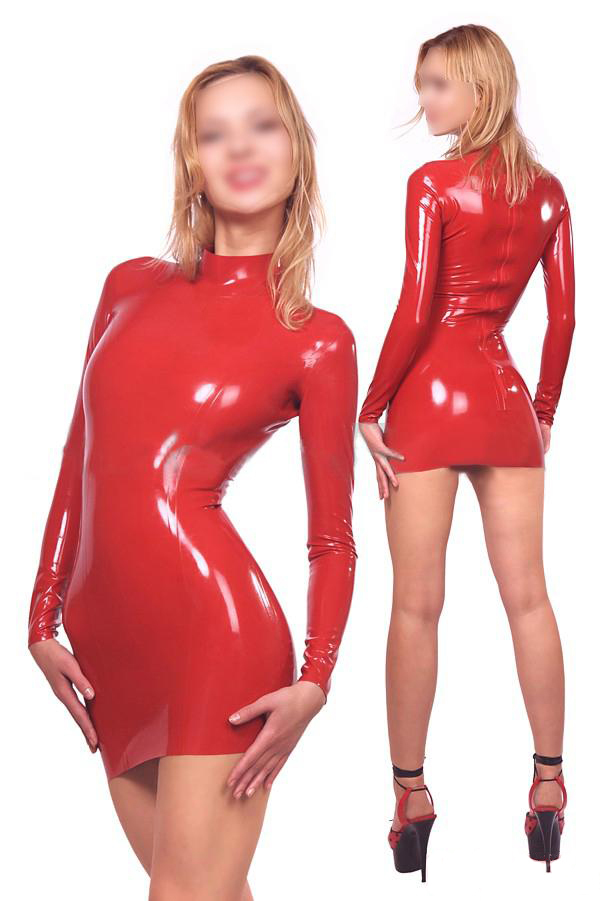 latex dress chatta gratis online