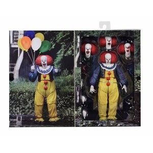 Image 3 - Korku filmi It karakter NECA Joker balonlar Pennywise Action Figure modeli oyuncak noel cadılar bayramı hediyeler