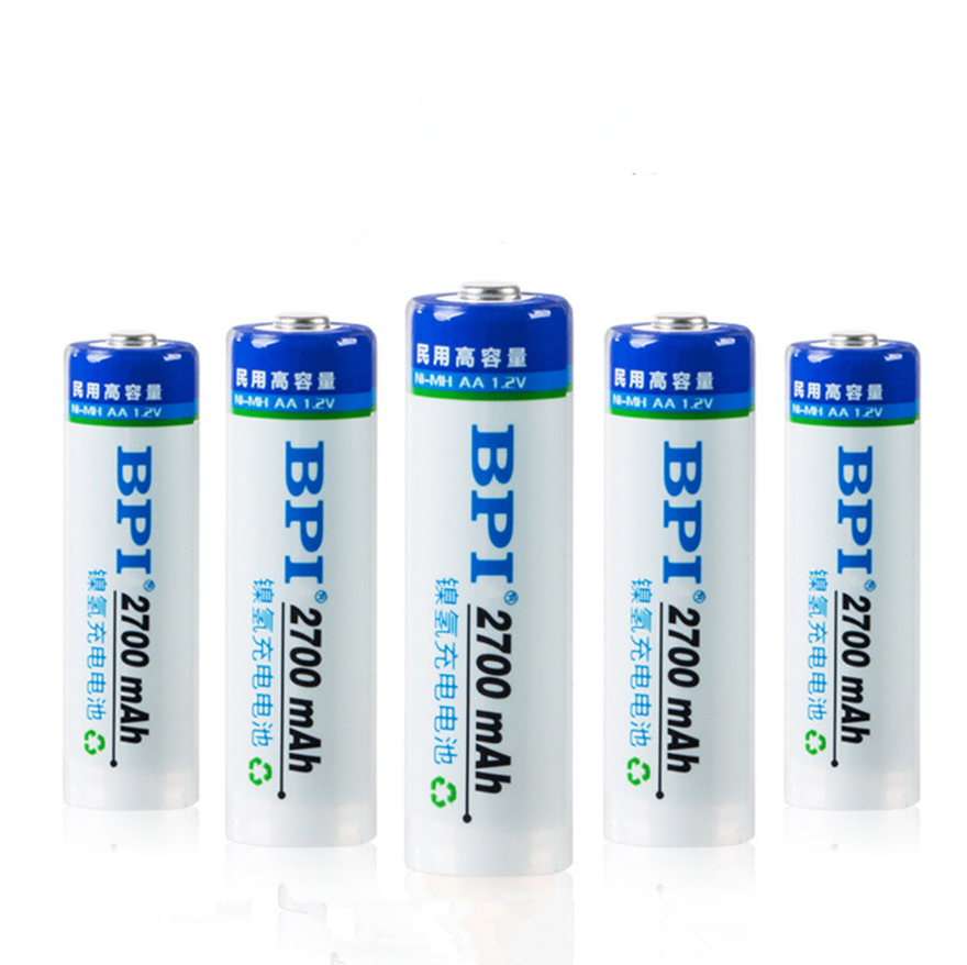 6Pcs Ni-MH 2700mAh 1.2V AA Battery Rechargeable Battery