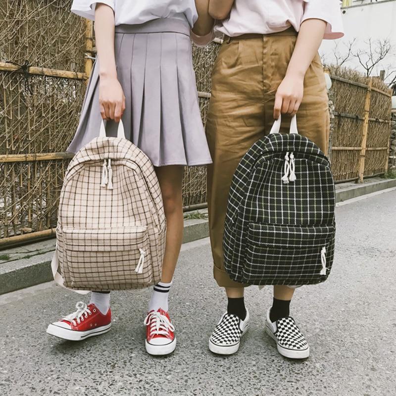 Japan Style 2 Pcs Women Backpack Preppy Suede Backpacks Girls School Bags Backpack Travel Bag Female Backpack Large Capacity