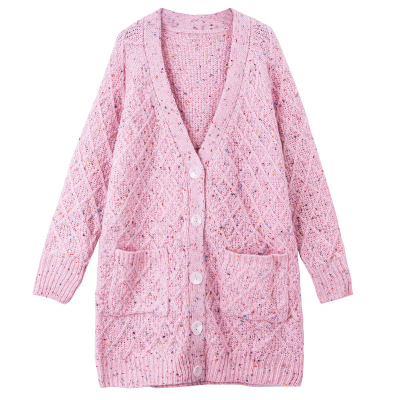 2017 Autumn Solid New Sweater Women Cardigan Knitted Sweater Coat Long Sleeve Crochet Female Casual Women Cardigans XS to XXL