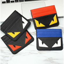 2019 small wallet card women Unisex Fashion Women Lichee Pattern Bank Card Package Coin Bag Card Holder