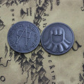 Hot New A Song of Ice and Fire Game of Thrones Faceless Coin Valar morghulis Jaqen H'ghar Aaliyah Badge 1:1