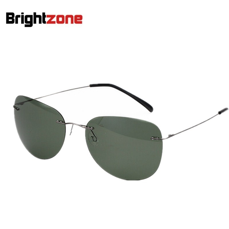 2017 New fashion 100% Pure titanium Polaroid Polarized ...